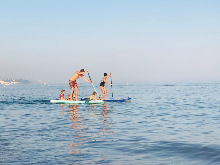 Paddle boarding Family tour, Marbella